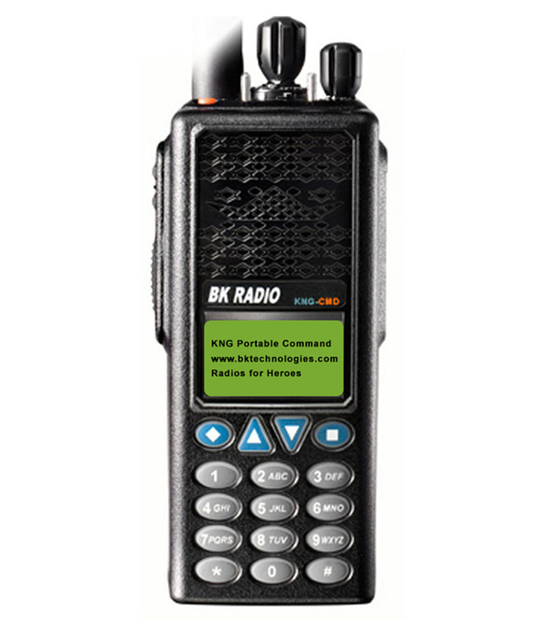 KNG Two-Way Portable Command Radios