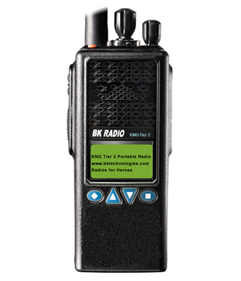 KNG Tier 2 Two-Way Portable Radios